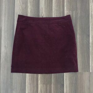 BANANA REPUBLIC // Purple Corduroy Skirt